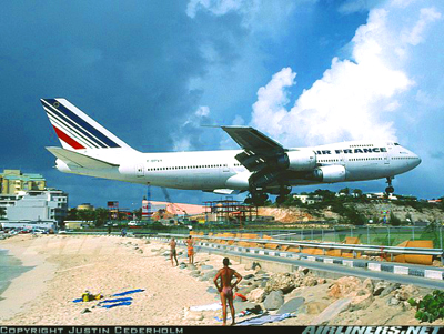 Superb Extreme Caribbean Living  The Runway In St. Maarten