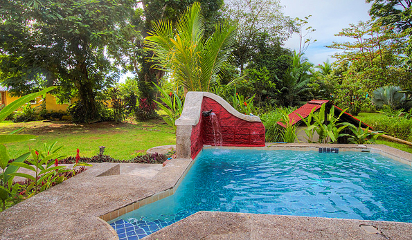 Pool designs for a caribbean home caribbean land property for Pool design costa rica