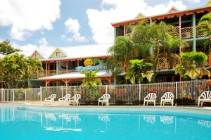 2 Beach Properties - Martinique studio apartment for sale.