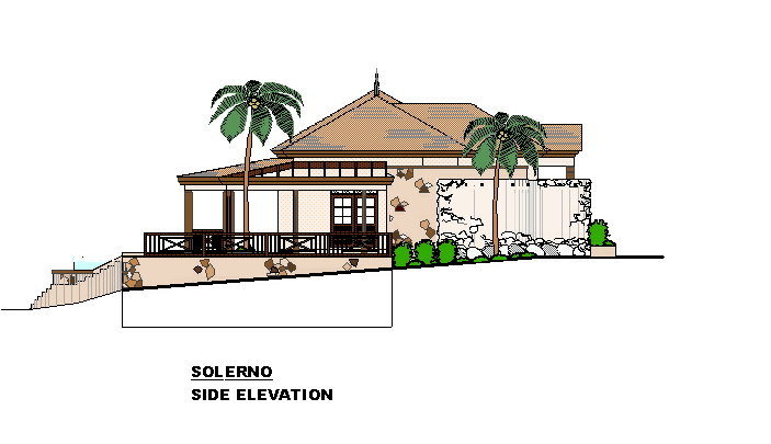 Caribbean Home and House Architects Drawings