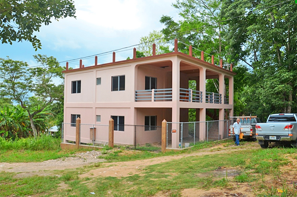 Belize 2 Storeyed Home