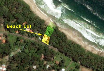 Costa Rica Beachfront Lot