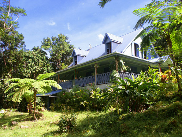 Dominica Rainforest Home