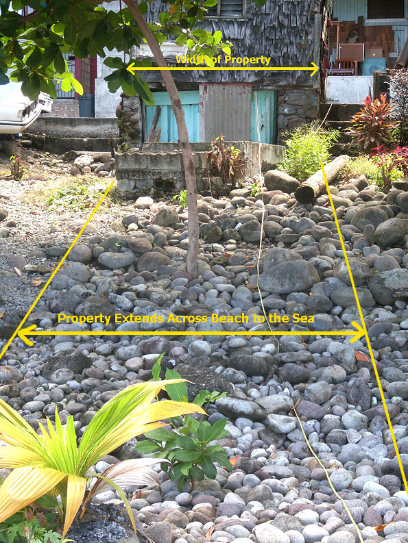 Dominica Beach Front Land