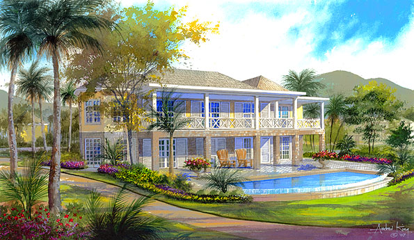 Nevis Luxury Home for Sale