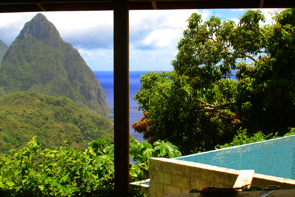 St. Lucia Pitons Home for Sale
