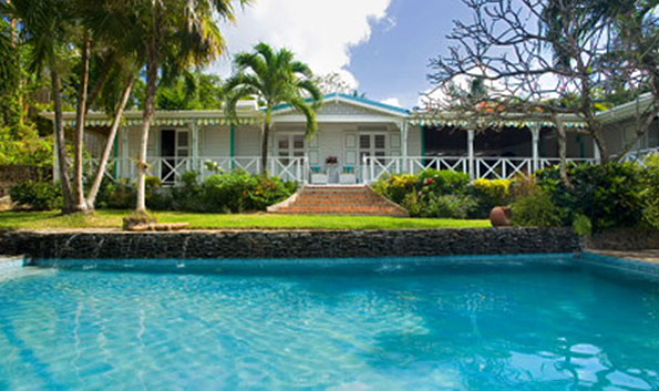 Caribbean Plantation House