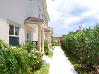 Turks and Caicos Apartment Building