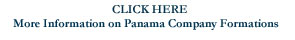 Panama Company Formations Start Here
